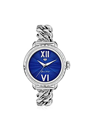 Glam Rock Women's GR77030DS1 Bal Harbour Silver/Blue Stainless Steel Watch
