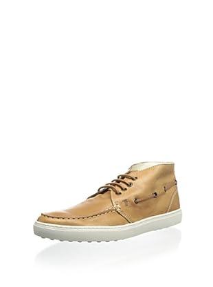 Tod's Men's Moc Toe Sneaker (Rust)