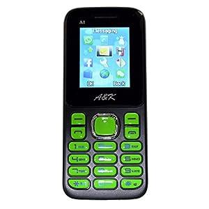 A& K Mobile Phone , Model-A 1 (Green / Black)