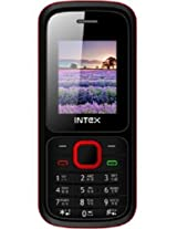INTEX NANO STAR (RED-BLACK) MOBILE PHONE