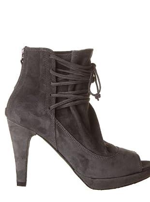 Paco Herrero Zapatos Peep Toe (gris)