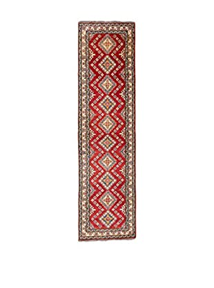 RugSense Alfombra Kazak Rojo/Azul/Beige 351 x 85 cm