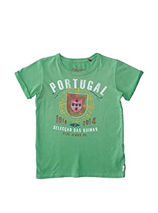 Pepe Jeans Camiseta Manga Corta Portugal Junior
