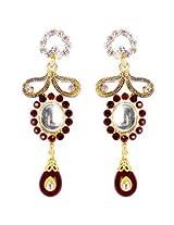 Austrian Diamond Earrings By Sanskruti