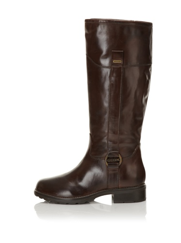 Geox Women's Donna Ortisei ABX Riding Boot (Coffee)