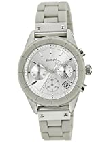 DKNY Analog Silver Dial Women's Watch - NY8580