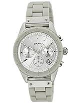 DKNY Analog Silver Dial Women's Watch - NY8580