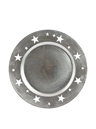 GALILEO Platzteller 24er Set silber