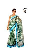 Kota Saree Kendra Women Cotton Saree (Kskss/Sa/111214/0483 _Light Green _Free Size)