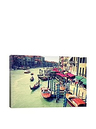 Colors Of Venice Gallery Wrapped Canvas Print