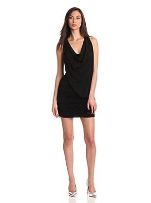 BCBGMaxazria Vestido Wanda (Negro)