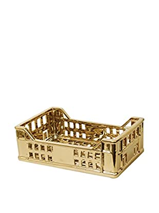 Seletti Porcelain The Box, Gold