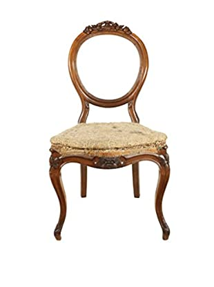 Deconstructed French Hall Chair, Brown