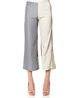 Custo Pantalón Tobillero (Multicolor)