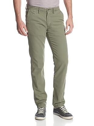 Original Paperbacks Men's Bayside Canvas Flat Front Pant (Mistletoe)