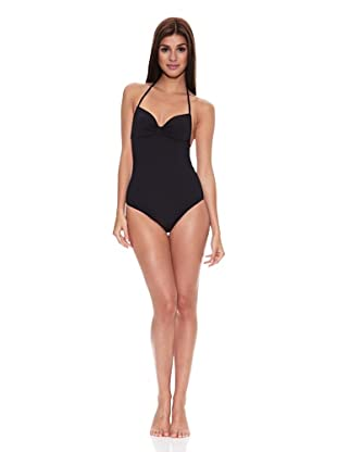 Springfield Bañador Black Swimsuit (Negro)