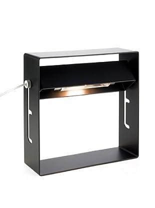 SEGNO Lámpara De Mesa Es.Pop 20 S+L 230V 48W G9 Bk Acero/Negro