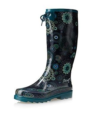 Desigual Women's Alile Rain Boot (Ibiza)