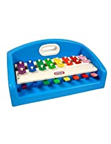 Little Tikes Blue Tap-A-Tune Piano XYLOPHONE with carrying handle