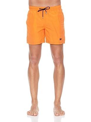 Pedro del Hierro Bañador Liso (Naranja)