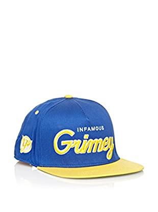 Grimey Wear Gorra de Baseball Vintage Core (Azul Royal)