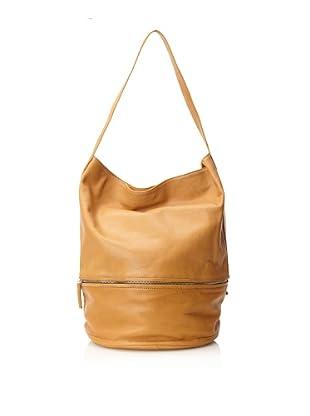 Hare + Hart Women's Classic Large Bucket Bag (Camel)