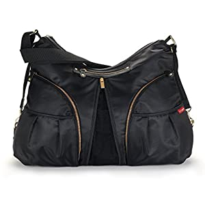 Skip Hop Versa Diaper Bag Black