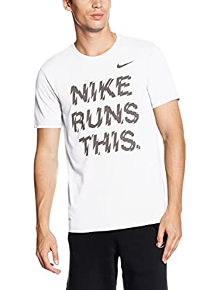 Nike T-Shirt Manica Corta Run P Run This Tee