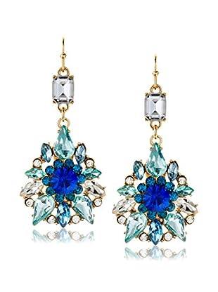 Bijou Crystal and Stone Drop Earring