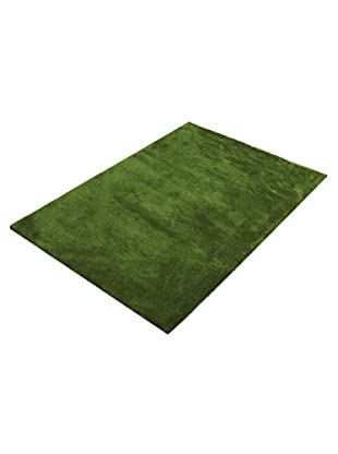 ABC Tappeti Alfombra Shaggy Como (Verde)