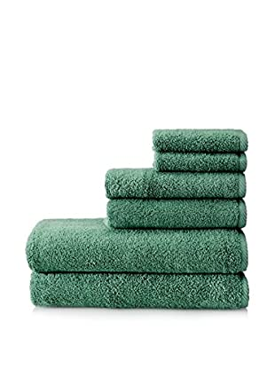 Home SourceMicroCotton Luxury 6-Piece Towel Set, Emerald