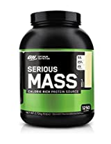 Optimum Nutrition Serious Mass, 6 lb, Vanilla