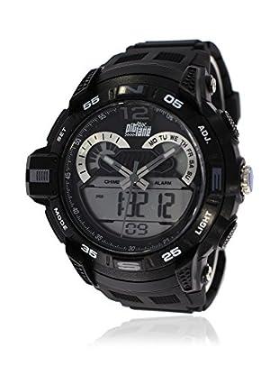Pit Lane Uhr Pl-2005-1 schwarz 50 mm