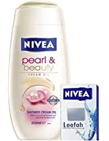 Nivea Pearl & Beauty Shower Cream Oil (250ml)