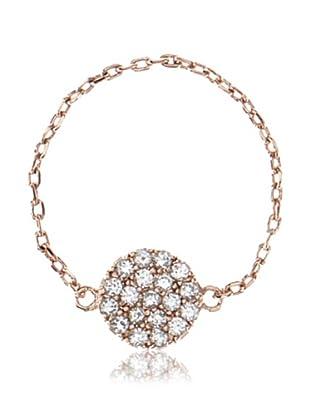gorjana Shimmer Disc Chain Ring, Size 7