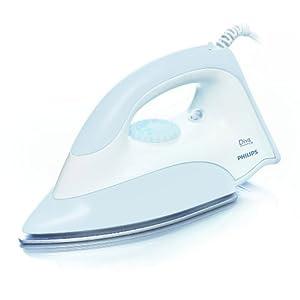 Philips GC135 1100-Watt Dry Iron (Grey)