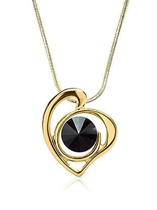 Swarovski Elements by Philippa Gold Halskette Art Swirl Heart