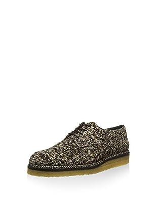 Castañer Zapatos derby Blossom-tweed