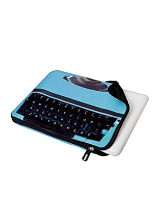 Apply Laptoptasche Typewriter Blue blau 13.5in