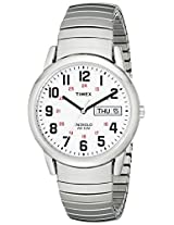 "Timex Men's T20461 ""Easy Reader"" Stainless Steel Watch"
