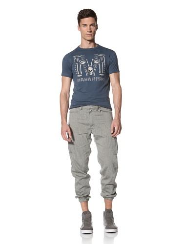 Maharishi Men's Elastic Deck Pant (Grey)