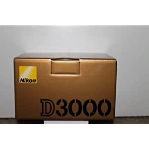 Nikon D3000 10.2MP Digital SLR Camera Body (Kit Box no Lens Included) International Model