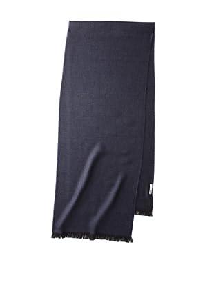 Valentino Women's Wool Herringbone Scarf, Navy