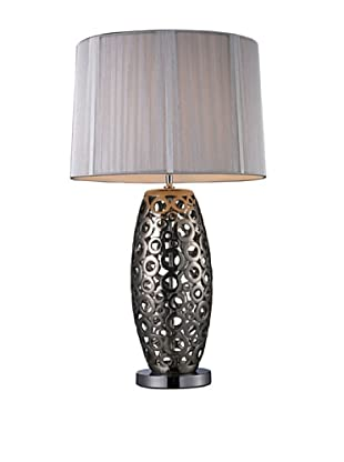 Artistic Lighting Varick Table Lamp, Alisa Silver