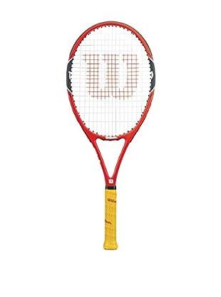 Wilson Raqueta Federer 100 W/O Cvr Rkt 1 Rojo / Negro