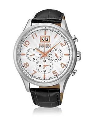 Seiko Reloj de cuarzo SPC087P1 Negro 43  mm
