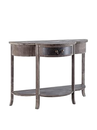 Mercana Chicago Ave Console Table, Brown/Black