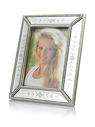 Bethel International Mirrored Picture Frame (Silver)