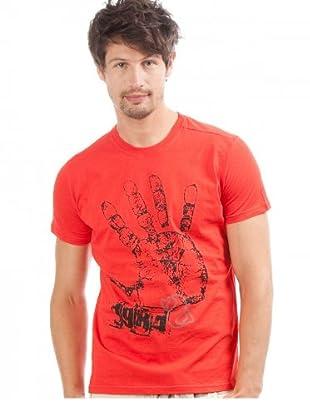 desigual Camiseta Melnitsa (Rojo)