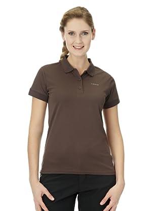 Luhta Polo Shirt Eeva (schokoladenbraun)